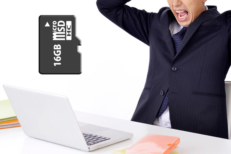 MacBook ProにはSDカードスロットが無いので読み込みができません